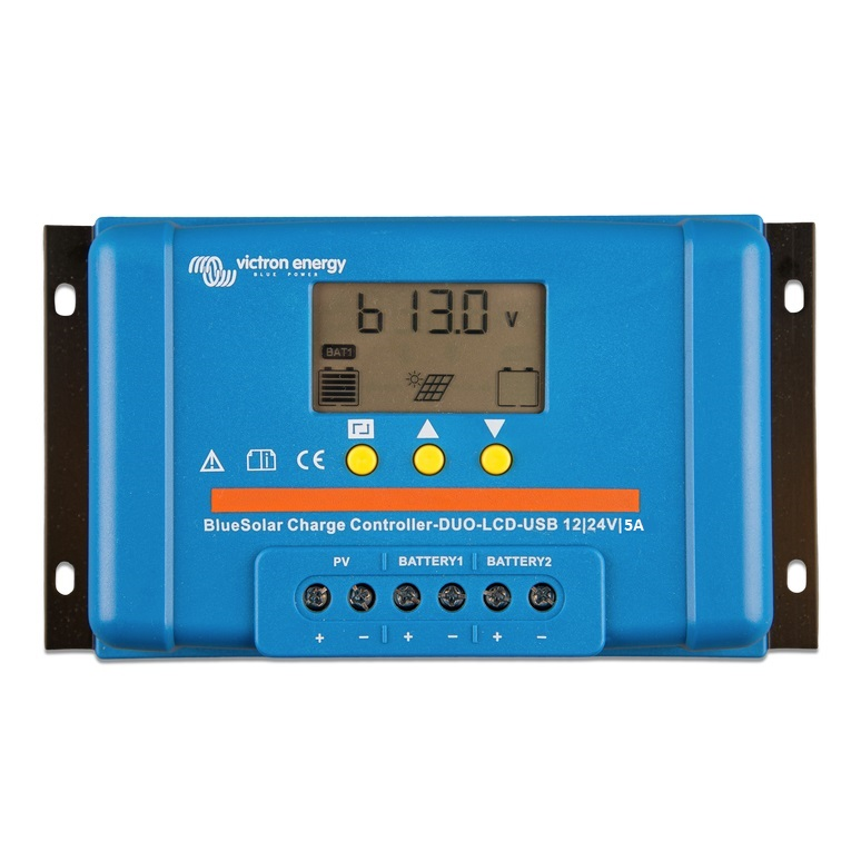 BlueSolar Charge Controller DUO LCD USB 12-24V-5A (top)