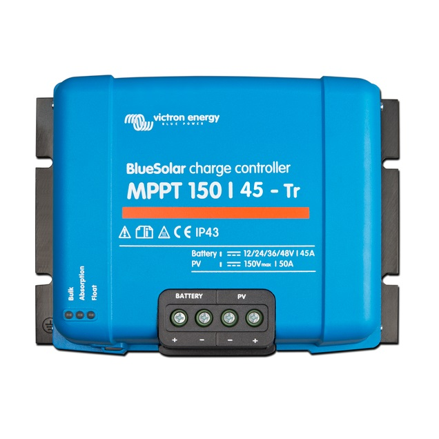 BlueSolar charge controller MPPT 150-45 Tr - Victron Energy