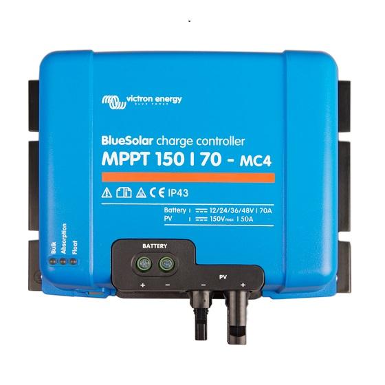 BlueSolar charge controller MPPT 150-70 MC4- Victron Energy