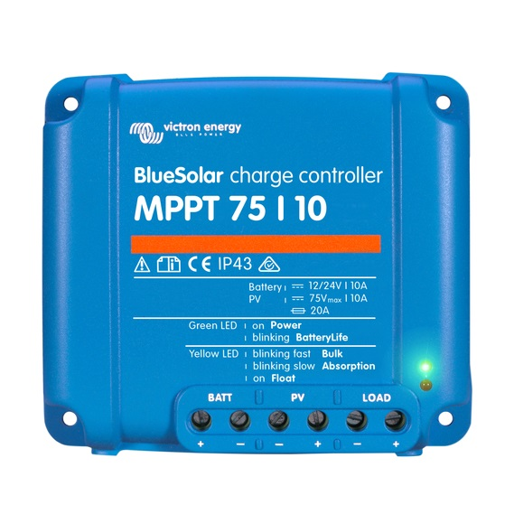 BlueSolar charge controller MPPT 75-10 - Victron Energy