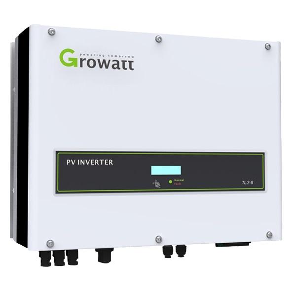Onduleur solaire Growatt 3000 TL3-S & 5000 TL3-S (left)