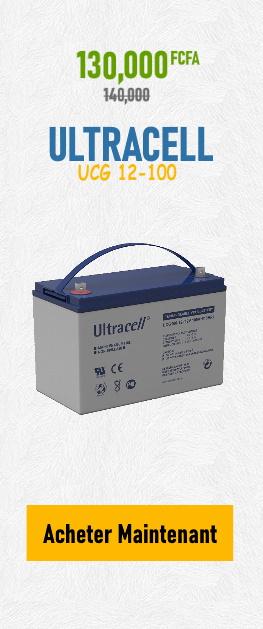 Promotion Batterie ULTRACELL UCG 12-100 sur Wilmosolar Shop