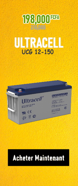 Promotion Batterie ULTRACELL UCG 12-150 sur Wilmosolar Shop
